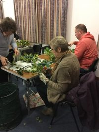 Birnie & Pluscarden Church Wreaths in aid of Christian Aid